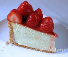 The most sought after recipe for cheesecake happens to be my New York Style Vanilla Cheesecake. I cannot say that I am surprised since this cake is the most