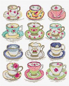 Latest design to be found in Cross stitch Collection | Lesley Teare Thoughts on Design
