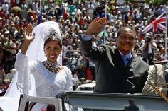 of Lesotho and Queen Karabo Motsoeneng Royal Brides, Royal Weddings, Wedding Couples, Wedding Day, Wedding Ceremony, Wedding Photos, Black Royalty, Tribal Warrior, African Royalty