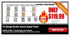 AMMO: Ammo for sale - Bulk Ammo - Shotgun Ammo - Ammo Cans