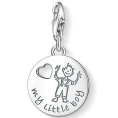 Thomas Sabo Silver My Little Boy Charm 1057-001-12 #ThomasSabo #CharmClub #MyLittleBoy #Boy