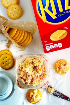 This recipe for Pimento Cheese, the southern classic, is simple, portable, and some serious comfort food. It's perfect for snacks or as an appetizer when entertaining! Homemade Pimento Cheese, Pimento Cheese Recipes, Cheese Food, Mini Appetizers, Appetizer Recipes, Dip Recipes, Cheesy Garlic Bread, Healthy Dishes, Pinterest Recipes