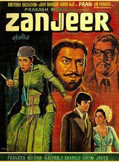 Cool Bollywood: Zanjeer (1973),   Amitabh Bachchan, Classic, Indian, Bollywood, Hindi, Movies, P... Hindi Movies Check more at http://kinoman.top/pin/22843/