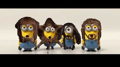 Who wants to hear the Misty Mountains Cold song sung  by minions?