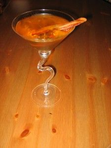 manfort martinis bacon martini art in a glass pinterest