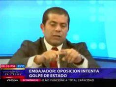 Entrevista de Nuria a embajador de Venezuela en RD termina en incidente....TIPICO CHAVESTIA