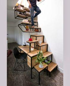 Criada pelo estúdio holandês Mieke Meijer, a Object élevé é uma verdadeira instalação formada por 3 partes.