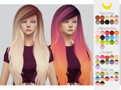 -Comes in 50 swatches Found in TSR Category 'Sims 4 Female Hairstyles'
