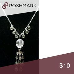 Elegant Clear Strand Necklace with Rose Pendants Elegant Clear Strand Necklace with Rose Pendants and Beads ~ Classy For Any Outfit~ Special Occasion ~ Medium Heavy?~ Round beads are slightly tinted.  Thanks For Stopping By ClosetCarousel~  Lets Make It A Fabulous Day~ Jewelry Necklaces