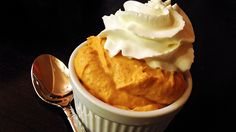 Pumpkin Whip - Sugar Free, No Bake, No Cook, Fluffy Spiced Thanksgiving Goodness! A delicious post weight loss surgery dessert! Bariatric Eating, Bariatric Recipes, Diabetic Recipes, Low Carb Recipes, Bariatric Surgery, Diet Recipes, Atkins Recipes, Ketogenic Recipes, Ketogenic Diet