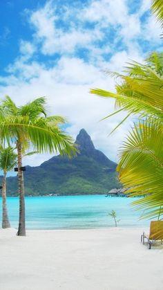 Bora Bora, Tahiti The water is an aqua paradise,... Take me there