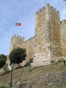 Castelo Sao Jorge Lisboa  Portugal