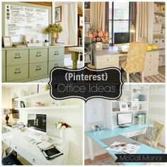 Office idea round-up at McCall Manor