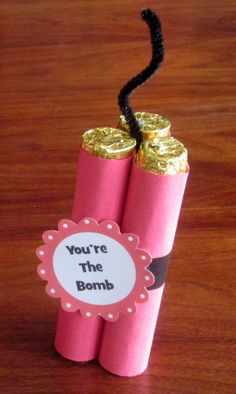 valentine crafts with candy | This particular craft idea for a homemade Valentine really jumped out ...