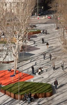 Plaza de Santa Bárbara. Madrid. Fuensanta/ sobejano