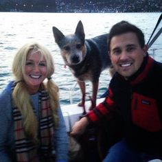Ashley and Brad offut got engaged today while sailing in beautiful SF bay.