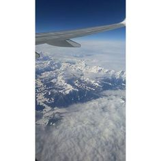 Mediolan 2018  #lot #2018 #mountains #airplane #sky #italy #clouds #trip #milano