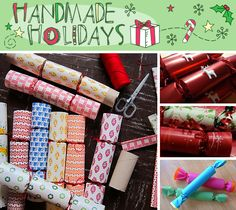 Make your own Christmas Crackers. Or maybe just buy them. Or make your own.