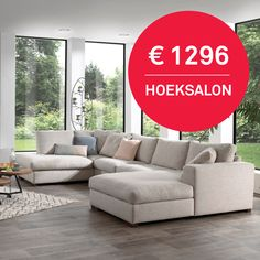 Deze grote hoeksalon is een prijskraker! Living Room Decor Modern, Room Decor Bedroom, Living Room Design Modern, Sofa Design, Modern Sofa Living Room, Living Room Designs, Living Room Sofa, Couch Design, Living Room Sofa Set