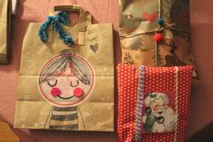 4 Gift Wrapping Ideas for a Greener Christmas - Gift Wrapping Ideas | Creative Gift Wrapping | The Gifted Blog