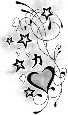 Heart and star designs pictures to pin on pinsdaddy heart and stars tattoos designs ideas 30 adorable small heart tattoos […] 3 Hearts Tattoo, Star Tattoo On Wrist, Star Tattoo Designs, Star Designs, Star Tattoos, Body Art Tattoos, Wing Tattoos, Tattoo Art, Sol Y Luna Tattoo