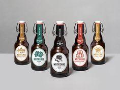Un estilo vintage moderno para representar una cerveza tradicional, Noteckie