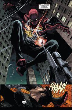 "Superior Spider-Man (Dr. Otto Octavius) | Superior Spider-Man Team Up #9 ""Goblin Nation"" | art by Marco Checchetto"