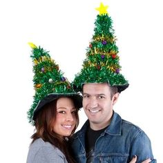 christmas hat idea | Crazy Cypress Crowns - This Christmas Tree Hat by Stupid.com Will Make ...