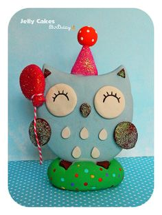 Birthday Owl Pinned by www.myowlbarn.com