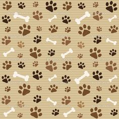 fondos de huellitas de perros - Buscar con Google