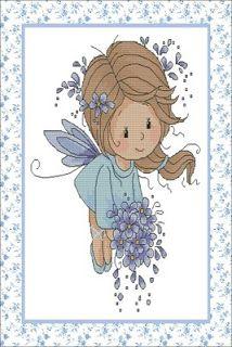 *.*  TERNURAS  *.*: Fadinha Azul