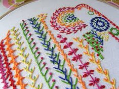 Image result for feather stitch
