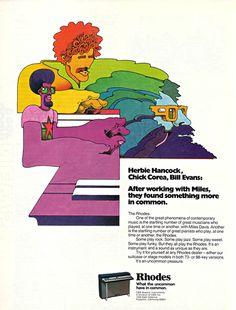 広告 : retro designed music store organ69