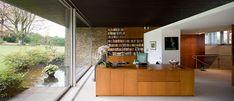 pescher house, wuppertal, germany, 1968, richard neutra
