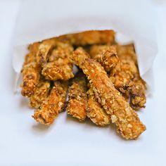 Crunchy Sweet Potato 'French Toast' Fries