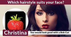 Which hairstyle suits your face?