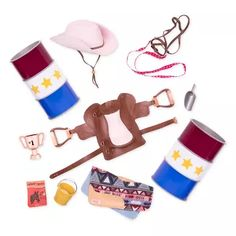 Our Generation Deluxe Equestrian Set - Barrel Racing : Target Equestrian Collections, Horse Treats, Horse Show Clothes, Barrel Racing Horses, Doll Carrier, Saddle Blanket, Journey Girls, Our Generation Dolls, Cowgirl Hats