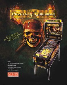 Find comparable offers Pirates Of The Caribbean in Collectibles, Arcade, Jukeboxes & Pinball, Pinball, Merchandise & Memorabilia Arcade Game Room, Arcade Games, Pinball Parts, Stern Pinball, Promo Flyer, Melrose Park, Pinball Wizard, Sale Flyer, Pirates Of The Caribbean