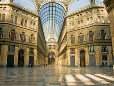 Napoli - Galleria Umberto I - Italy