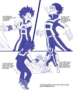Inherited quirk AU Part 3, Combat Support with Todoroki-kun (2) (1) Source: シルヴァー with permissions