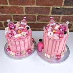 coffee mug cake recipe Alcohol Birthday Cake, 19th Birthday Cakes, Birthday Drip Cake, Alcohol Cake, Adult Birthday Cakes, Birthday Cakes For Women, Liquor Cake, 18th Cake, Bottle Cake