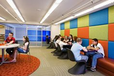Padded walls - Library Design Showcase 2012: Youth Spaces | American Libraries Magazine
