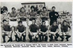 PERUGIA 1970-71SERIE B 6° posto per la squadra di Guido Mazzetti