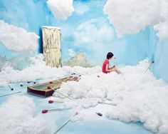 Artist Creates Real-Life Dream Worlds in Her Tiny Seoul Studio