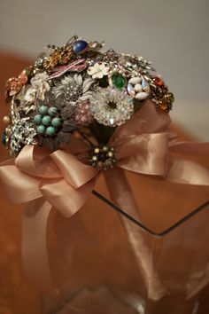 brooch bouquet would be wonderful with Maw's pins @Cory Ledford @Kelly Ledford