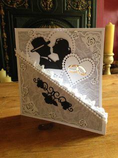 Handmade by me using spellbinders & marianne design
