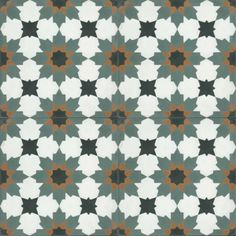 Moroccan Encaustic Cement Pattern Pre Sealed 17b | £ 2.59 | Moroccan Cement Tiles | Best Tile UK | Moroccan Tiles | Cement Tiles | Encaustic Tiles | Metro Subway Tiles | Terracotta Tiles | Victorian Tiles