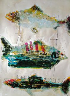 Fish & Ships Christine Bowen