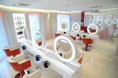 Aldo Coppola new salon in Milano, Italy. Equipment and design by GAMMA&BROSS
