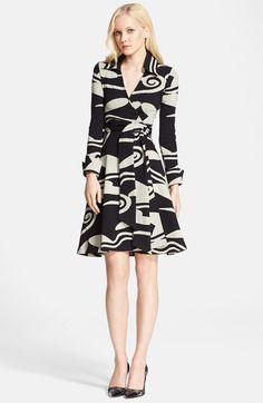 Diane von Furstenberg Knit Wrap Dress available at #Nordstrom